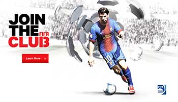 EA FIFA Homepage
